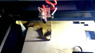 Лазерный станок с полем 40*40 см 40w резка гравировка кожи фанеры(Этот ролик только в ознакомительных целях., 2016-06-02T04:22:49.000Z)