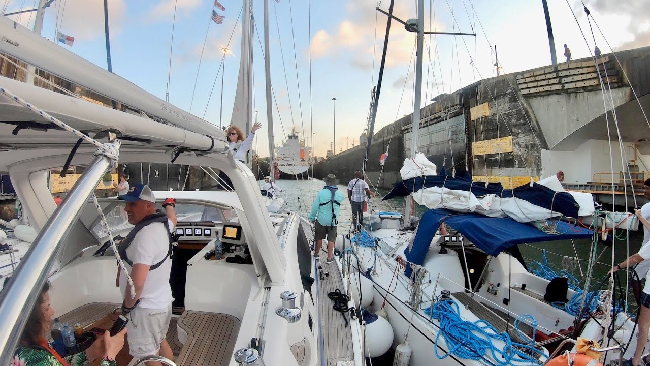 How to Transit the Panama Canal with a Sailboat, Atlantic to Pacific - Part 1