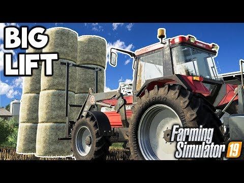 THE BIG LIFT - Let's Play Farming Simulator 19 | Episode 50 thumbnail
