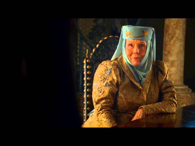 Olenna Tyrell to Cersei Lannister You are not the Queen - Game of Thrones