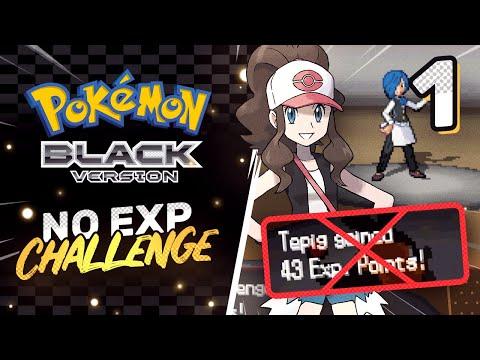No EXP Challenge | Pokemon Black/White Part 1