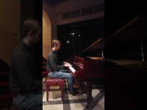John Spuls in Blings Bar Helsinki  piano improvisation