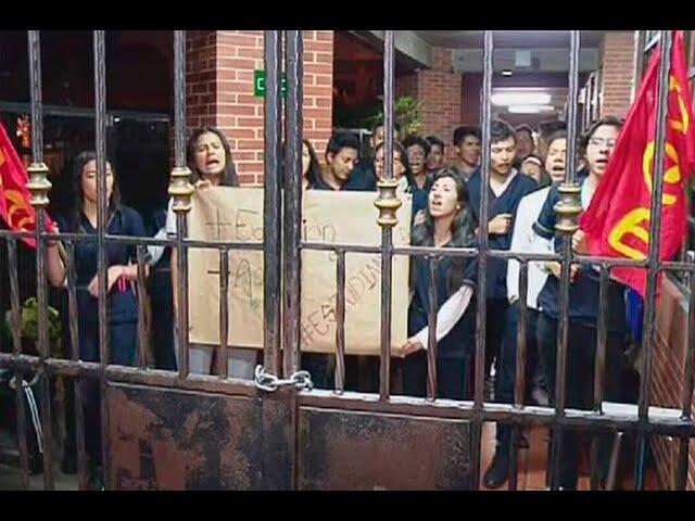 Se toman colegio Internacional de Fontibón para exigir salida de rectora | Noticias Caracol