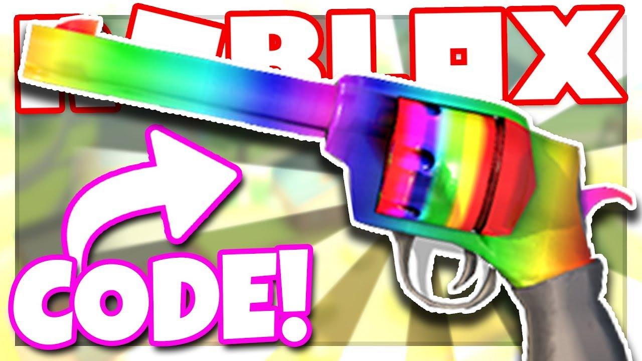 Gun Codes Wild Revolver On Roblox Roblox Free Robux Game Code How To Get Rainbow Skin Roblox Wild Revolvers Youtube