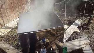 видео Коптильня бытовая холодного копчения Дым Дымыч модель 02Б