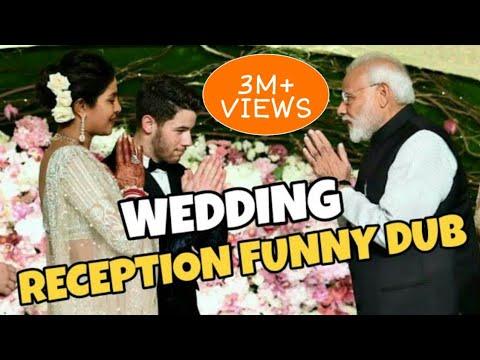 Priyanka chopra and Nick jonas wedding -Ft. Pm Modi Funny Dub