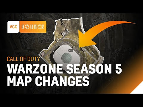 Cod Warzone Season 5 Map Changes Vgc Source Youtube