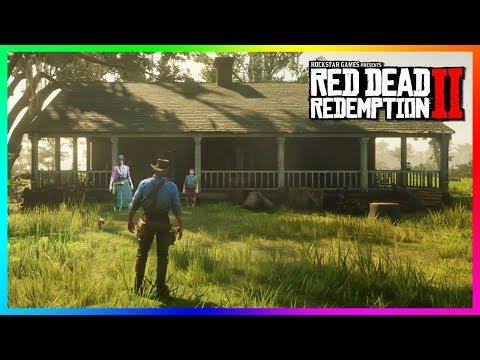 Finding Arthur's Old House In Red Dead Redemption 2 & Who REALLY Murdered His Wife And Son! (RDR2)