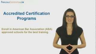 Legal Assistant & Paralegal Certification Walkthrough