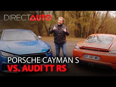 PORSCHE CAYMAN S vs. AUDI TT RS
