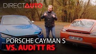 PORSCHE CAYMAN S vs. AUDI TT RS