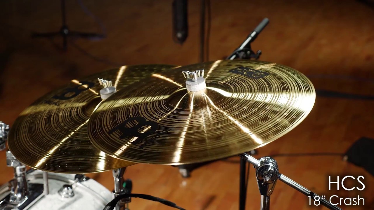 Crash Cymbals Translation : meinl cymbals hcs18c hcs 18 crash cymbal youtube ~ Vivirlamusica.com Haus und Dekorationen