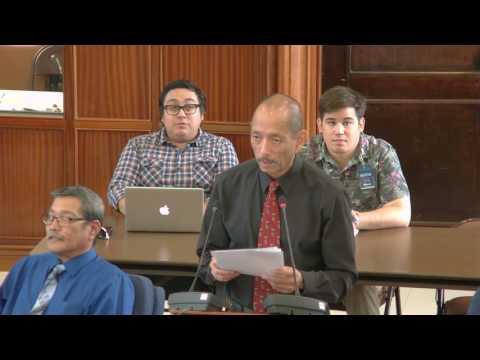 34th Guam Legislature Morning Session - March 8., 2017