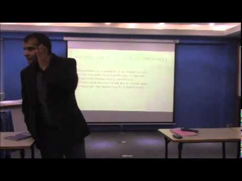 Legal overview with Baburam Aryal
