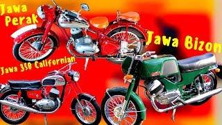 История мотоциклов JAWA.Модели JAWA,о которых вы никогда даже и не слышали
