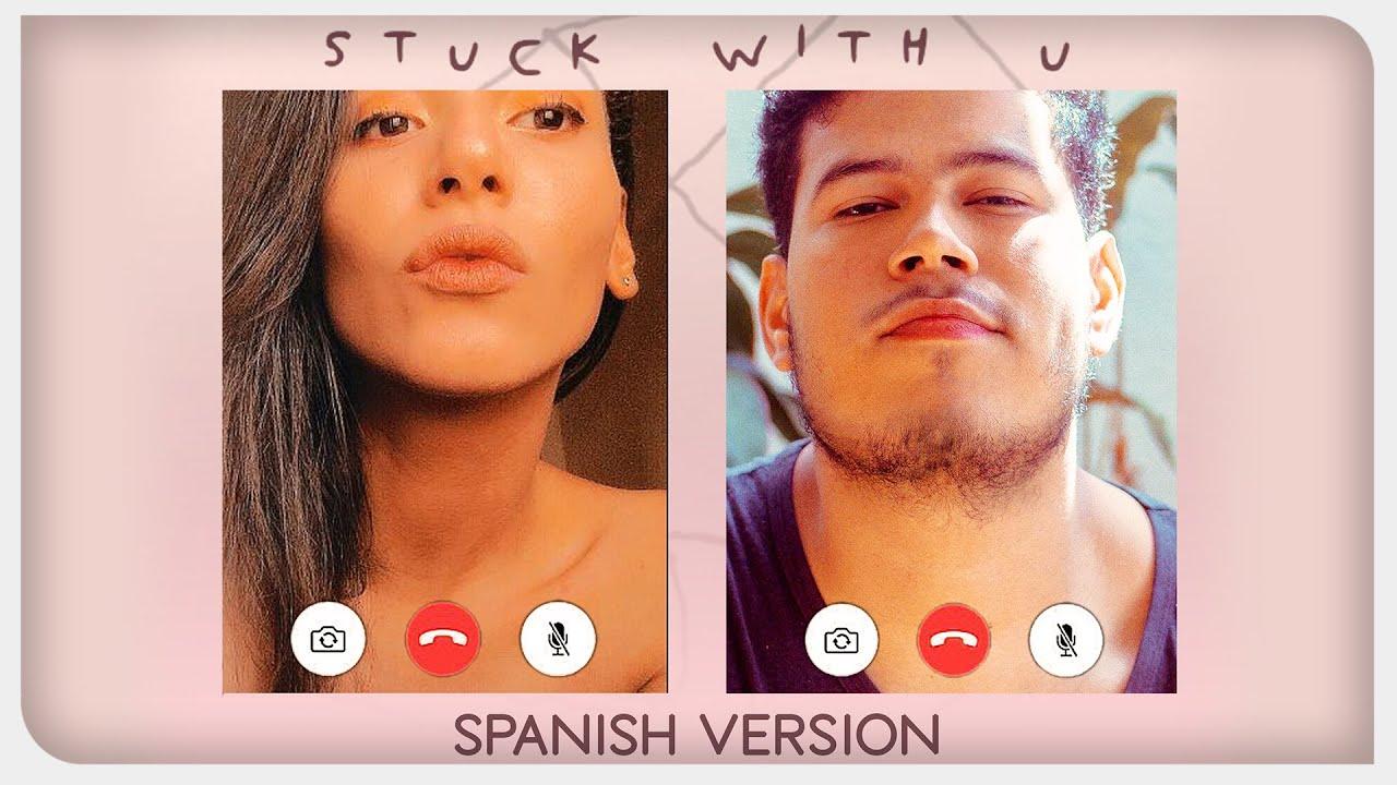 Ariana Grande & Justin Bieber - Stuck with U (feat. Mari Luna) [versión en español] | VIDEO OFICIAL