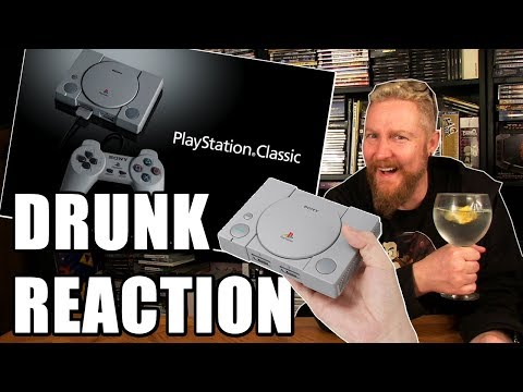 PLAYSTATION CLASSIC MINI REACTION  Happy Console Gamer