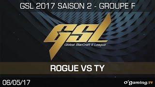 Rogue vs Ty - GSL S2 - RO32 - Group F - Winner's Match - Starcraft 2
