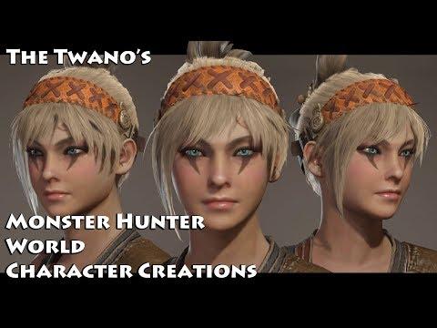 Monster Hunter World - Character Creation (Cute Female) #48