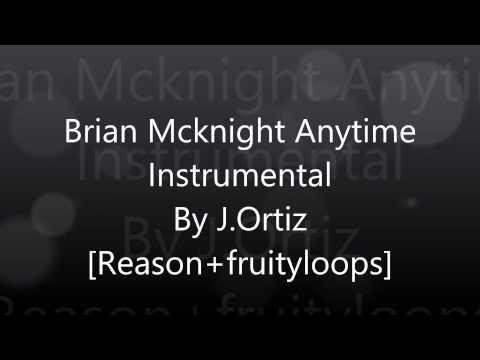 Brian Mcknight  anytime instrumental