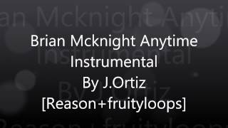 Brian Mcknight - anytime instrumental