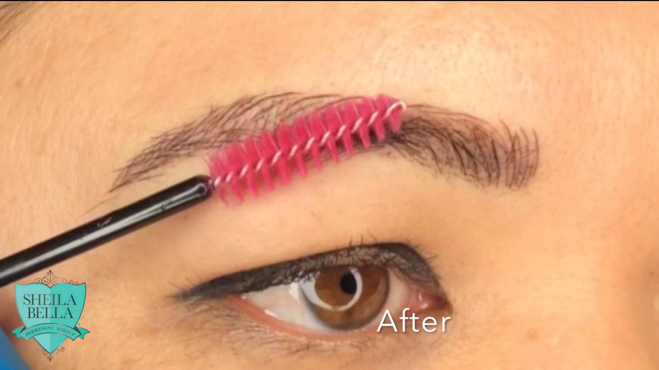 Permanent Hair Stroke Eyebrows Youtube