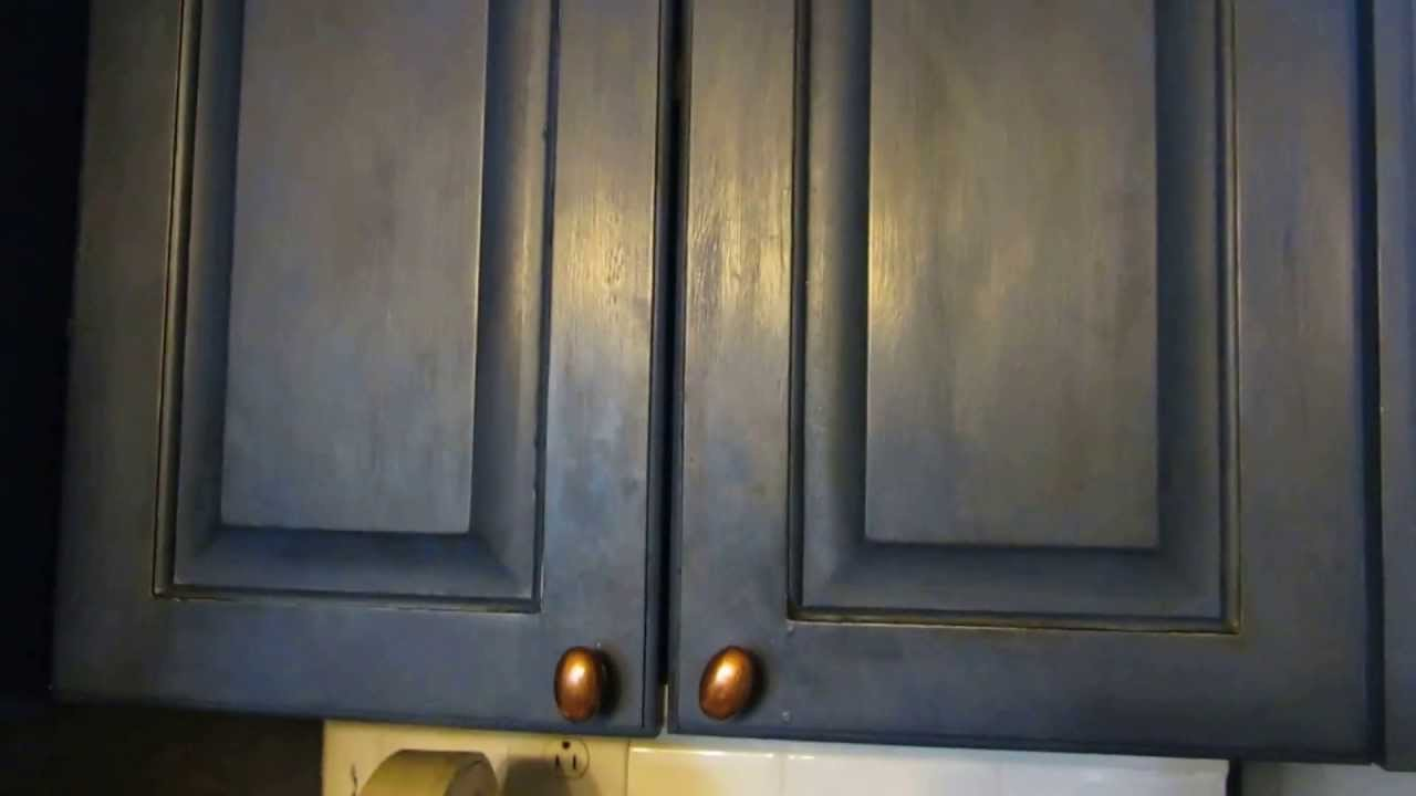 Meuble Vintage Tv Annie Sloan Chalk Painted Kitchen Cabinets~spunky Real