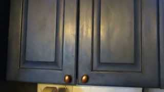 Annie Sloan Chalk Painted Kitchen Cabinets~spunky Real Deals