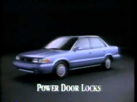 1991 Toyota Corolla Commercial