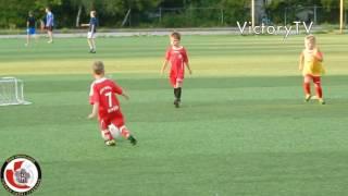 Тренировка по футболу для детей 5-6 лет.
