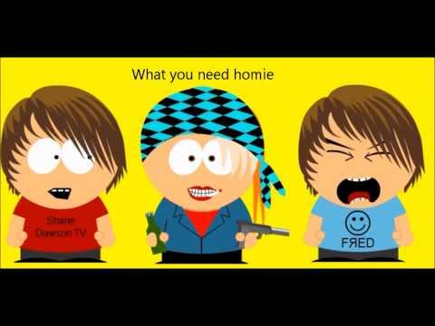 Cartoon Tube-Fred Dies