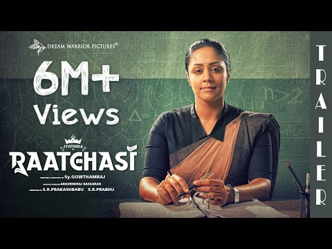 Raatchasi - Official Trailer | Jyotika | Sy Gowtham Raj | Sean Roldan | Dream Warrior Pictures