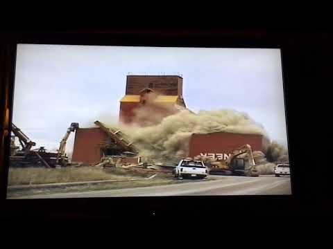 Rosetown Saskatchewan elevator demolision