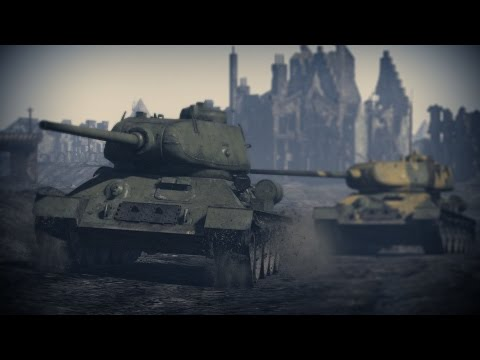 Berlin - A War Thunder Multiplayer Cinematic, 60fps - (Machinima)