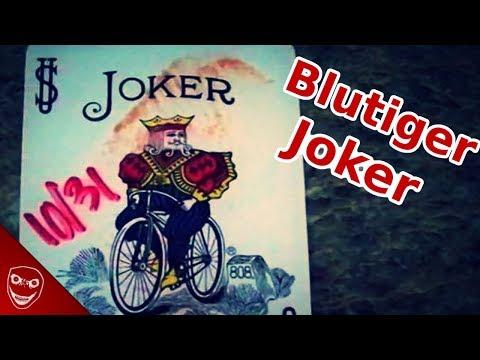 Blutige Joker-Karten im Briefkasten warnen vor Halloween! Was steckt dahinter?