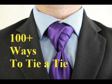 How To Tie A Tie Deivao Twist Knot For Your Necktie - YouTube