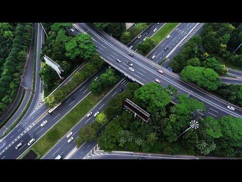 'Lane robot' helps traffic management in Shenzhen