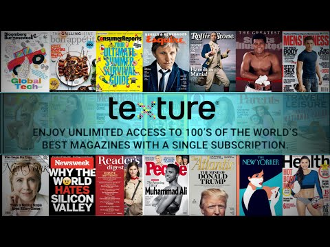 Texture:  Unlimited Digital Magazines