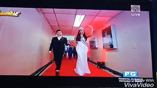 Catriona Gray in Showtime