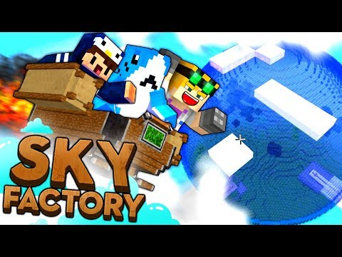 Minecraft Sky Factory - THE LOST CITY #21