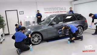 WhiteDetails' BMW Support Vehicle - DETAILED