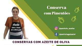 Thumbnail/Imagem do vídeo Conserva de pimentão - Sabor e Saúde
