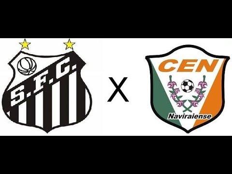 Santos 10 x 0 Naviraiense -  Copa do Brasil 2010 - Jogo Completo