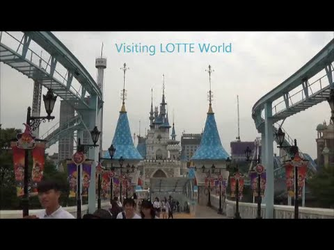 In Korea: Visiting LOTTE World Theme Park in Seoul 2014