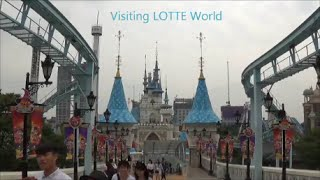 In Korea #2: Visiting Lotte World Theme Park In Seoul