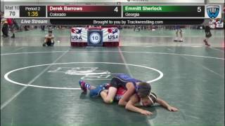 380 Intermediate 70 Derek Barrows Colorado vs Emmitt Sherlock Georgia 8570747104