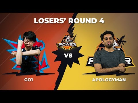 GO1 vs ApologyMan - Losers\' Round 4 - DBFZ Summit of Power