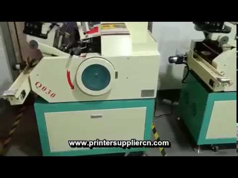 Automatic Hot Stamping Machine For Business Card,Name Card Hot Foil Stamping Equipment