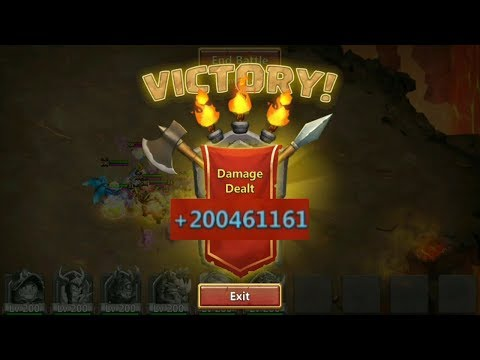 Deflect Archdemon 200Mil DMG L Castle Clash