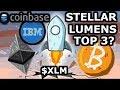 Stellar (XLM) - BULL RUN after tokenization of the stock exchange #XLM